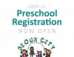 2020-21 Preschool Registration Now Open