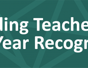 Building Teachers of the Year Recognized