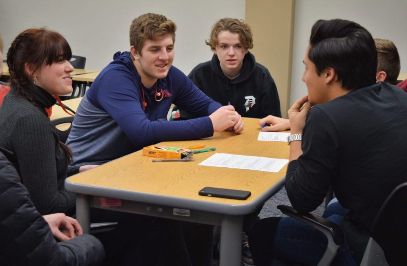 BCU students assist with presentations