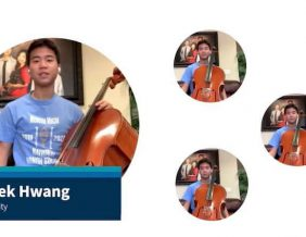 Derek Hwang uses music to spread hope and support among the class of 2020