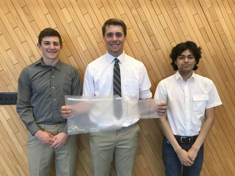 Students from the SCCSD Career Academy Engineering Design and Development Capstone.
