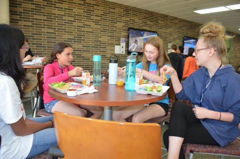Free summer meals offered at WITCC, Photo by Earl Horlyk SCJ