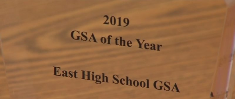 GSA of the Year East High 2019