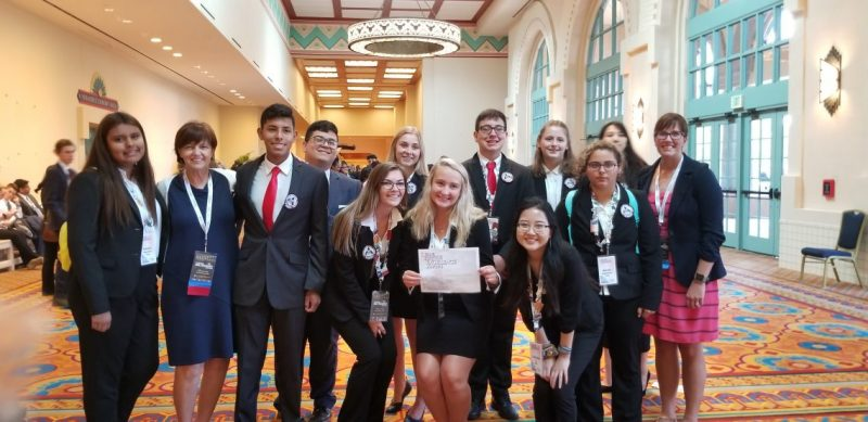Students from HOSA ILC 2019