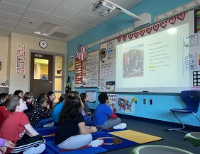 Students at Bryant Elementary Learn about Martin Luther King Jr.