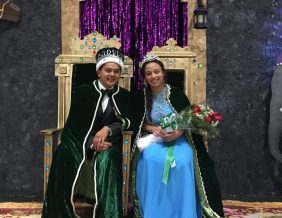 West High Homecoming King Oscar Grijalva and Queen Payton Beaumier