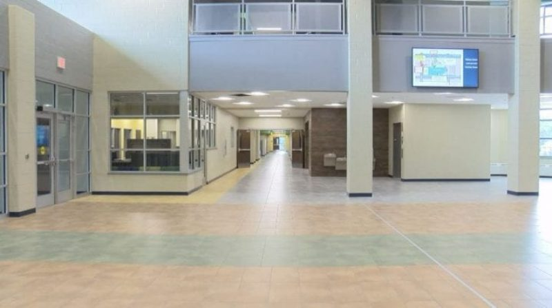 KTIV Image of Bryant Elementary School Building