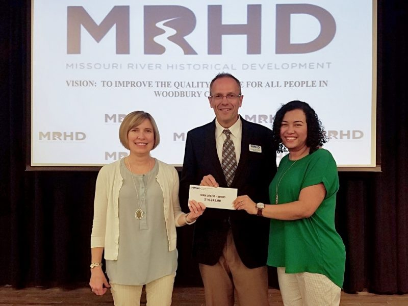 District Nurses receive Missouri River Historical District Grant for Vision Screening Devices