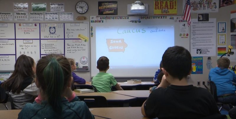 Students at Morningside STEM Elementary Participate in Youth Straw Poll