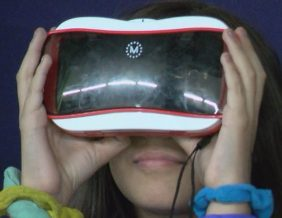 Morningside STEM fifth graders explore space through virtual reality