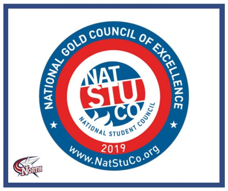 The NatStuCo National Gold Council of Excellence seal.