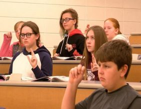 North Middle School offers Sign Language Class to Students