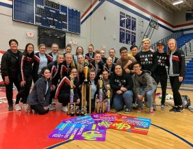 Sioux City North's Dance Team competes at annual MA competition
