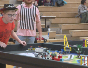 Students Compete in Lego League Competition