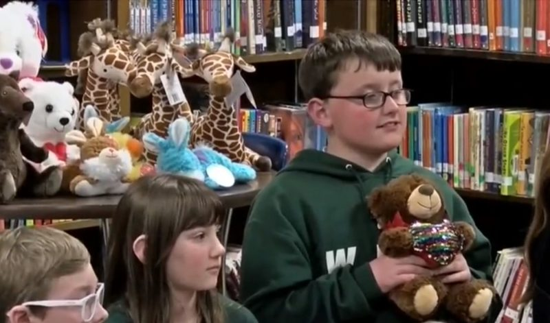 Students at Riverside Elementary Kindness Club Donate Stuffed Animals to Local Hospitals