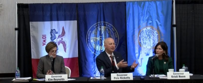 Tri-State Governors speak at the annual conference