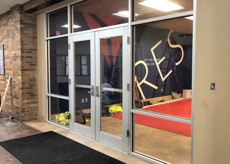 New space means room for new pathways
