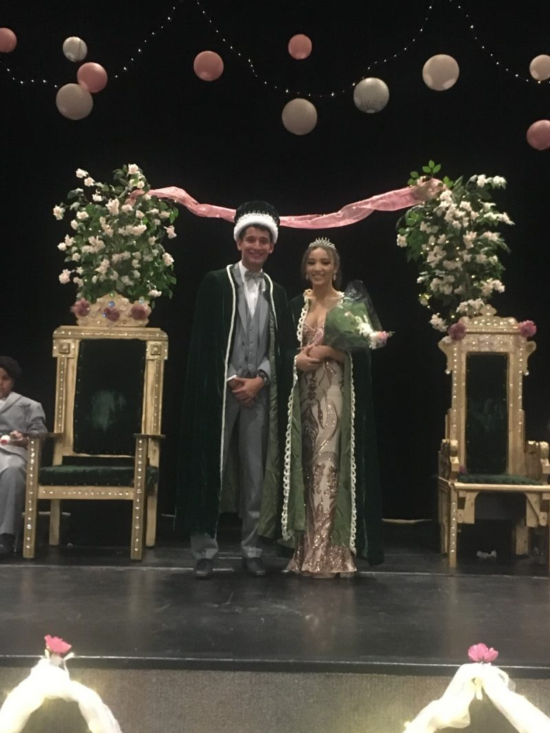 WHS homecoming king & Queen 2019