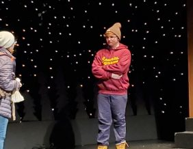 Boasting a cast of 15 student actors, North High School staged a production of playwright John Cariani's