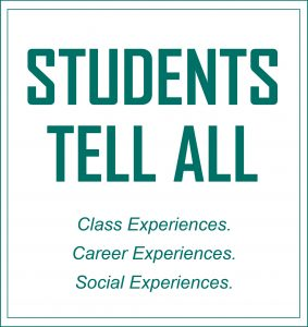 Students tell all
