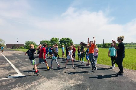Students enjoy the last day of school during the 2018-2019 school year at Nodland Elementary.