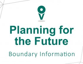Planning for the Future Boundary Information