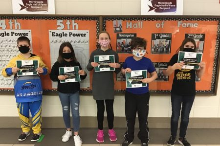 Morningside Student of the Month Group 6