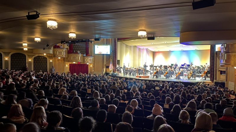 SCCSD Students perform with the Sioux City Symphony at the Sioux City Orpheum