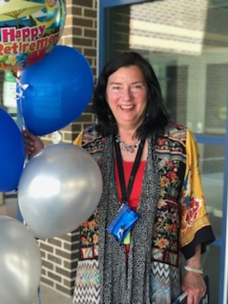 Principal Mary Kay Kollars retires after 40 years with a surprise parade
