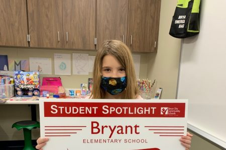 Bryant PBIS Student of the Month Spotlight 1