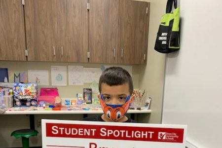 Bryant PBIS Student of the Month Spotlight 3