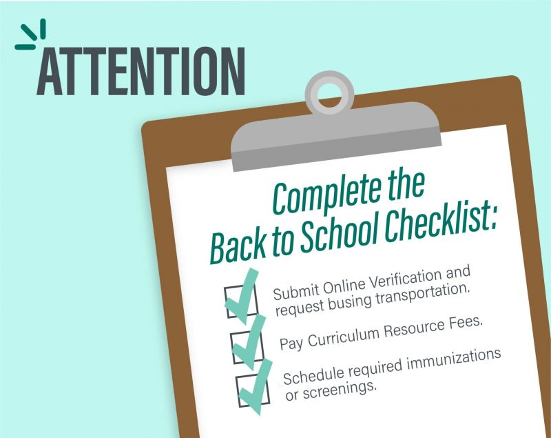 Back to School Reminders News