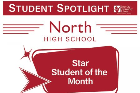 Student Recognition Signage - Student Spotlight - North High School - Star Student of the Month
