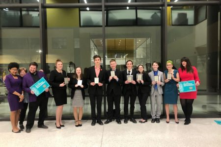 EHS Debate Students at West Iowa National Qualifying Tournament