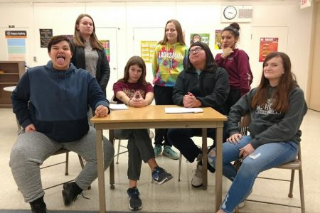 EHS Speech Students Perform One Act Play