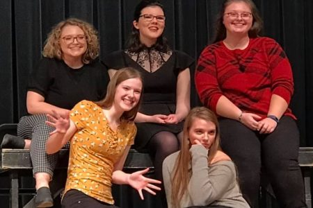 EHS Speech Students Perform Ensemble Act