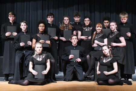 EHS Speech Students Perform Choral Reading