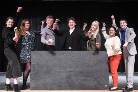 EHS Speech Students Perform Musical Theatre Show