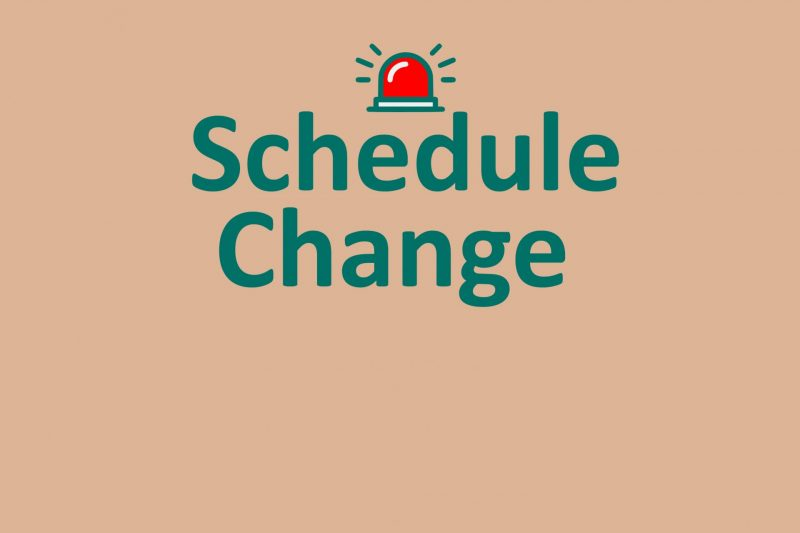 Schedule Change News