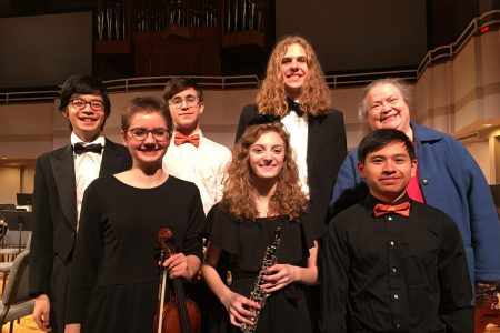 EHS 2020 NWIA Orchestra Students