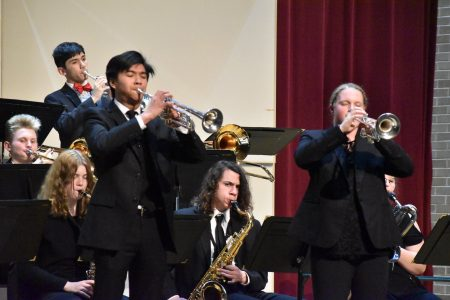 EHS Jazz Band Concert Performance with Trumpet Feature