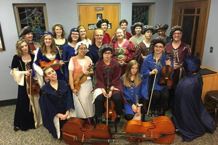EHS Madrigal Students