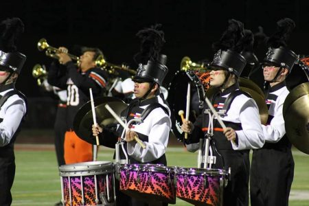 EHS Marching Band Drum Feature