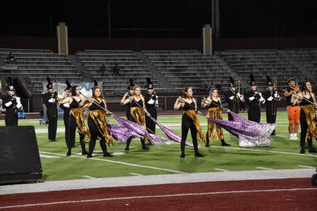 EHS Marching Band Featured with Color Guard
