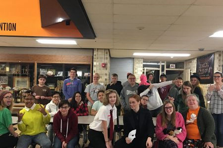 Orchestra Students Gather for Halloween Celebrations