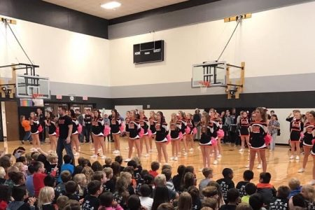 Raiders Together Pep Assembly