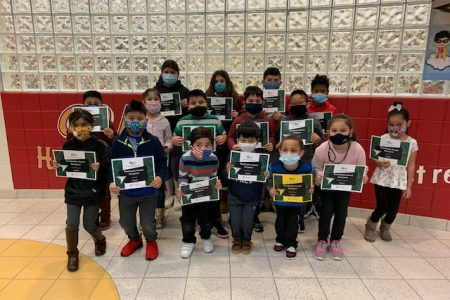Irving Student of the Month Group 2