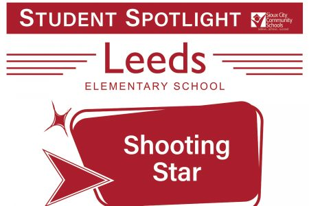 Student Recognition Signage - Student Spotlight - Leeds - Shooting Star